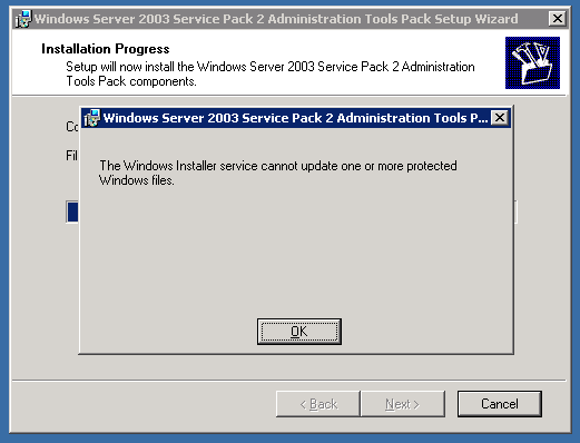 adminpack windows 2003